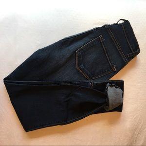 Tobi High Waisted Dark Wash Skinny Jean