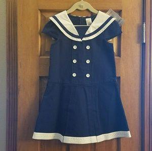 Gymboree Other - Girls NWT Gymboree Navy Sailor Dress Size 6