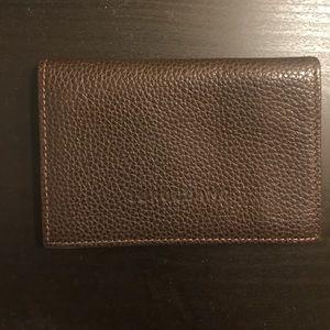 Longchamp leather wallet