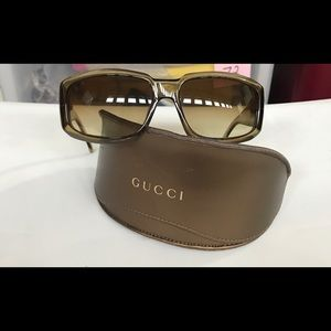 Gucci Large Frame Sunglasses
