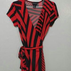 Soho Apparel Dresses & Skirts - Soho Apparel Wrap Midi Dress