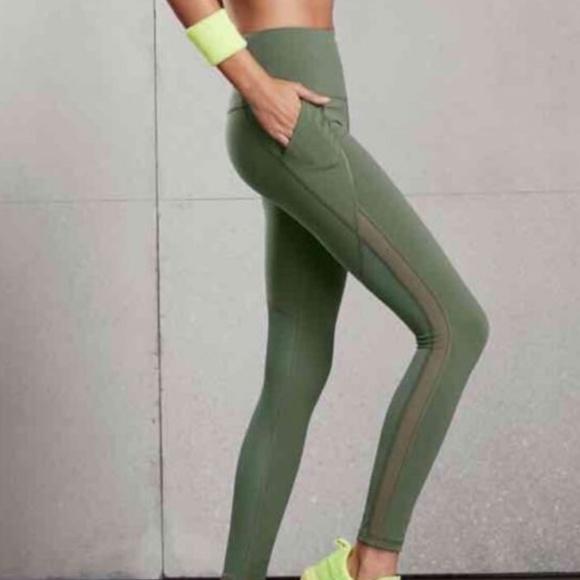 d46a1f1d22548 Victoria's Secret Pants | Victorias Secret High Knockout Tight Mesh ...