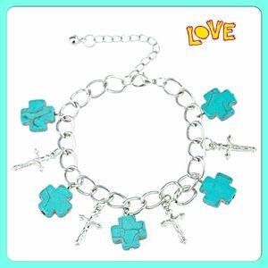 boutique Jewelry - 30% OFF BUNDLES✨Cross & Crucifix Charm Bracelet✨