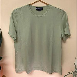 Vintage Tops - vintage   Land's End   t-shirt