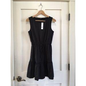 Theory Dresses & Skirts - Theory Black Drawstring Waist Dresd