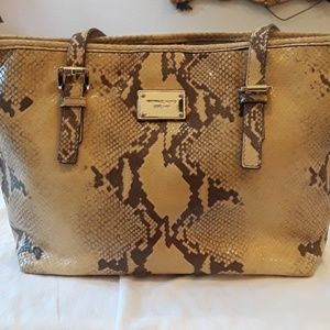 Michael Kors Handbags - Michael Kors Snakeskin print Tote