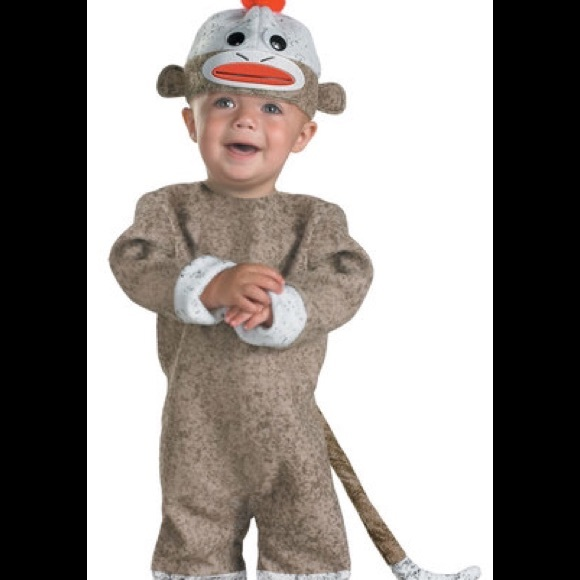1ea7724558f Sock Monkey Costume