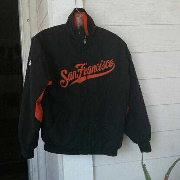 on sale ef370 ab44c MAJESTIC VINTAGE SAN FRANCISCO GIANTS JACKET