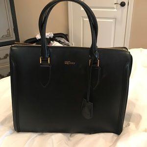 Alexander McQueen Handbags - Alexander McQueen black tote