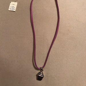 Lia Sophia Jewelry - NWT PRICE DROP!!!! Lia Sophia cupcake necklace