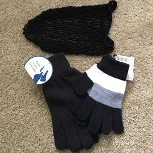 Accessories - Gloves and Hair Net Bundle