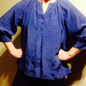 Joie Tops - Joie silk blouse blue S