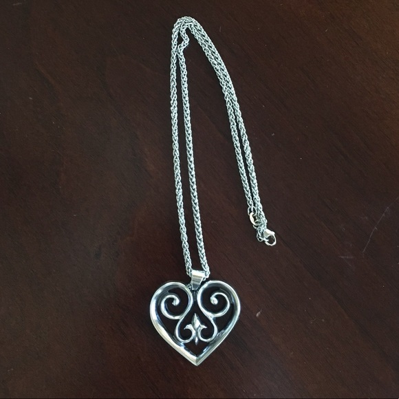 James Avery Jewelry - Heart pendant with chain