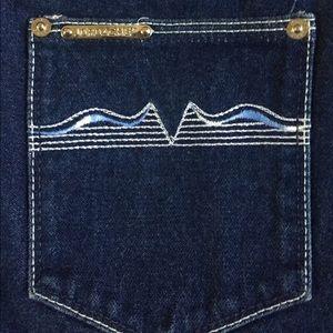 Jordache Denim - Original Vintage women's Jordache jeans dark denim