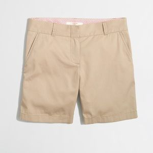 "J. Crew Pants - J. Crew Broken-In 7"" Chino Shorts Khaki"