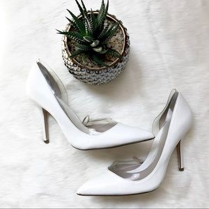 Zara Shoes - • Zara White Pump Heels •
