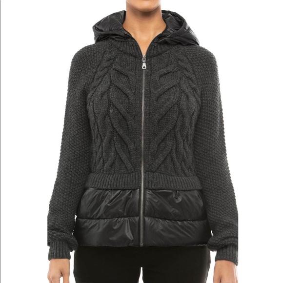 6d838681752 anatomie Jackets   Blazers - ANATOMIE sweater Puffer jacket size M black  down