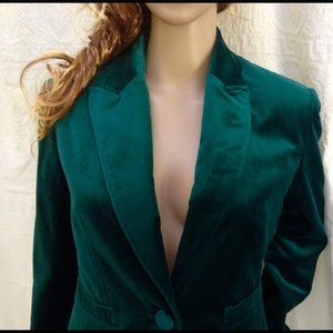 Worthington Jackets & Blazers - Cotton Rayon Velvet Worthington Fully Lined Blazer