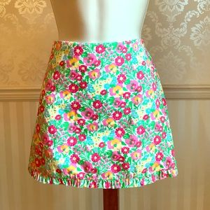 Lilly Pulitzer Dresses & Skirts - Lilly Pulitzer Floral Mini Skirt