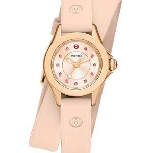 Michele Accessories - Michele cape mini rose topaz wrap watch