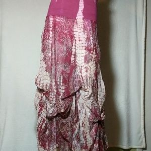 Solitaire Dresses & Skirts - Soltaire Tie-dye Maxi Skirt
