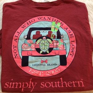 Simply Southern Tops - Simply southern Tee XL