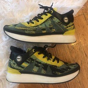 "Kenzo Shoes - Kenzo green ""white noise"" sneakers!!"