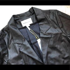 BCBGeneration Jackets & Coats - BCBGeneration Short Sleeve Leather Jacket- NWT