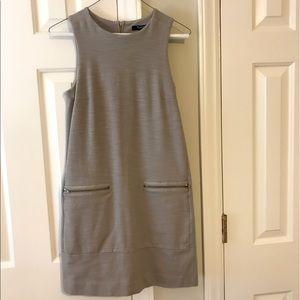 Madewell Shift Dress with Zipper Pockets