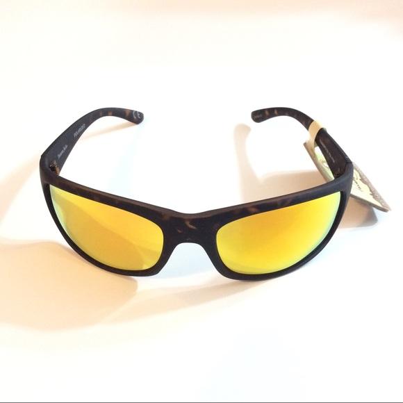 e25bfef1bd Men s polarized mirrored orange sunglasses