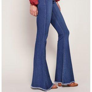Free People Denim - Free People Super Flare Jeans!