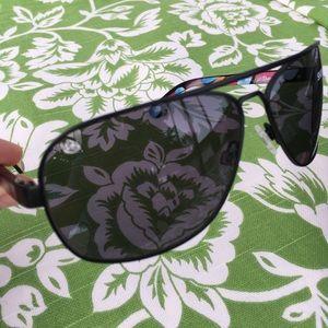 SPY Accessories - The Showtime Spy Aviator Sunglasses Black/Gray