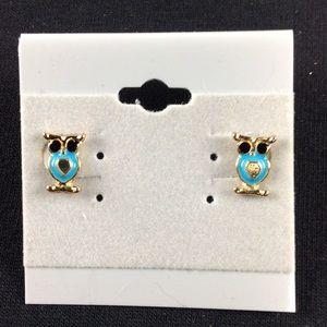 Jewelry - New Owl Stud Earrings