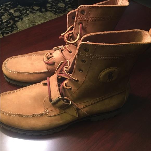 New Ralph Lauren Polo Mens Ranger Boots