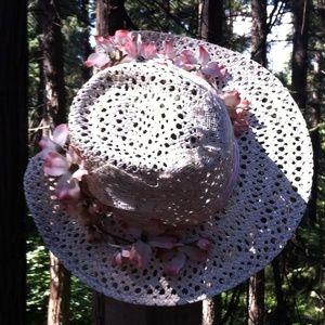 Kreativekristen original embellished sun hat