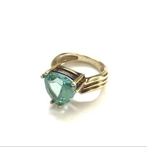 Jewelry - Large Trillium Swarovski Crystal Sterling Silver