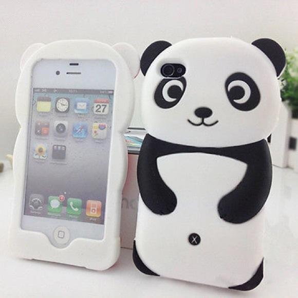 Silicone Panda iPhone 6 Case
