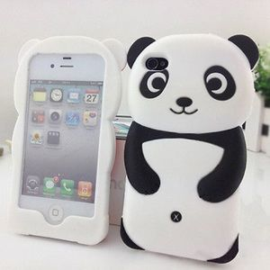 Accessories - Silicone Panda iPhone 6 Case