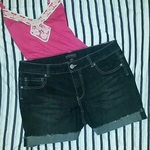 Forever 21 Pants - Forever 21 + Dark Wash Shorts