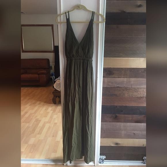 aa4040fc607 ... olive green maxi dress. Lulu s Dresses   Skirts - Lulu s  Lost in  Paradise  ...