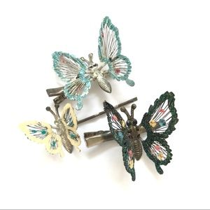 Butterfly Sparkle Hair Clips