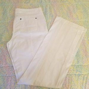 London Fog Denim - White London Jeans Size 8