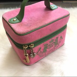 Vintage Juicy Cosmetic Case Pink & Green