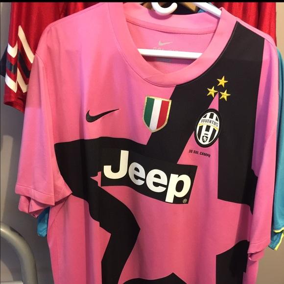 low priced 166d0 70a0b Nike Juventus Pink jersey size XXL rare, 2012-2013