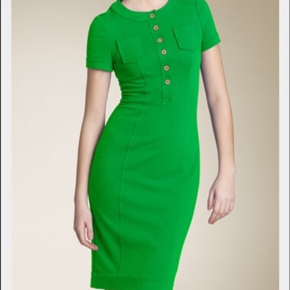 Diane Von Furstenberg Dresses & Skirts - Diane VonFurstenberg green dress