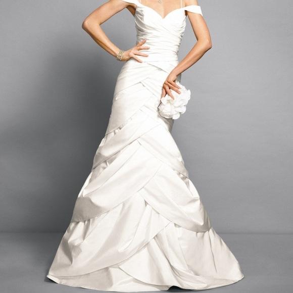 42 off rami kashou for bebe bridal dresses skirts for Tulip wedding dress style