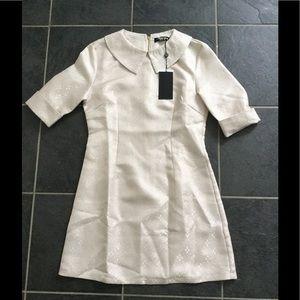 fashion union Dresses & Skirts - Peter Pan Collared Shift Dress Size 6