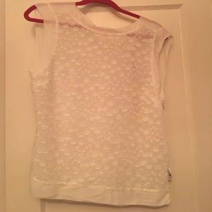 Karen Millen Tops - Karen Millen Sleeveless White Top