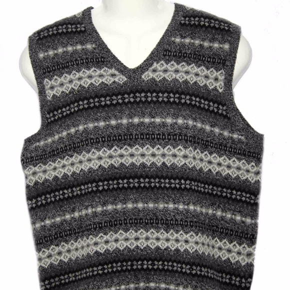 73% off J. Crew Other - Men's J. Crew Lambswool Sweater Vest Size ...