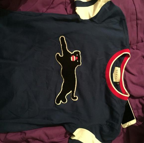 86fec6450cea Gucci Shirts | Panther Shirt | Poshmark
